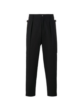 Damir Doma slouch trousers - Black