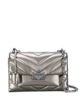 Michael Michael Kors quilted shoulder bag - Grey