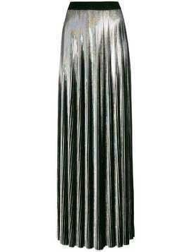 Balmain holographic pleated skirt - Metallic