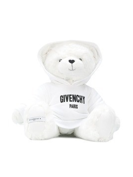 Givenchy Kids teddy bear with hoodie - White