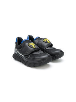 Bumper Lamborghini patch sneakers - Black