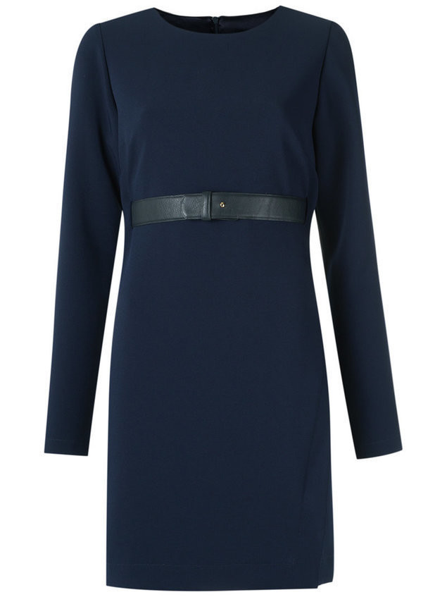 Olympiah long sleeves dress - Blue