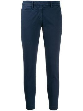 Peuterey slim-fit trousers - Blue