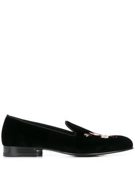 Gucci Flying Pig loafers - Black