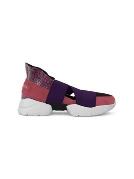 Emilio Pucci City Up custom sneakers - Pink&Purple