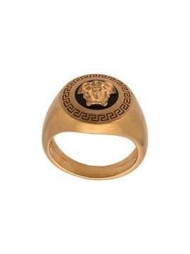 Versace Enamel Icon Medusa Ring - Gold