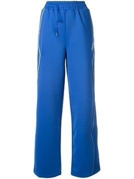 Ader Error wide-leg track pants - Blue