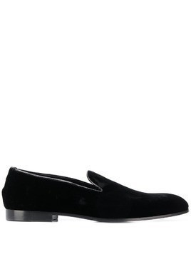 Doucal's slip-on loafers - Black