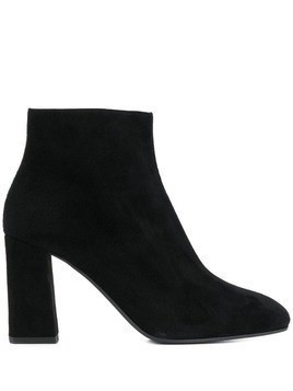 Pollini side-zip ankle boots - Black