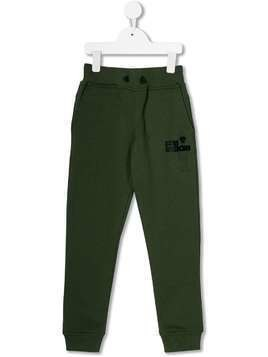 AI Riders on the Storm fleece logo trousers - Green