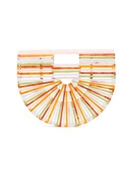 Cult Gaia half moon clutch - Multicolour