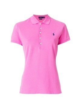 Polo Ralph Lauren slim-fit polo shirt - Pink&Purple