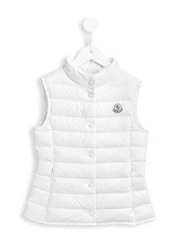 Moncler Kids padded gilet - White