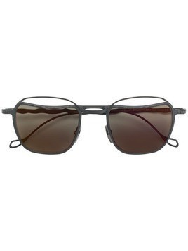 Kuboraum square frame sunglasses - Black