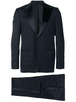 Kiton two-piece dinner suit - Blue