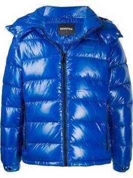 Duvetica padded hooded jacket - Blue