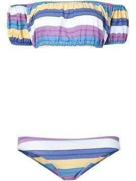 Lisa Marie Fernandez striped bikini - Multicolour