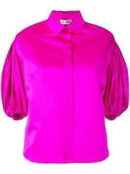 Dice Kayek draped sleeve shirt - Pink
