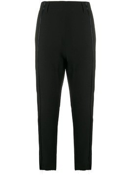 Ann Demeulemeester cropped tailored trousers - Black