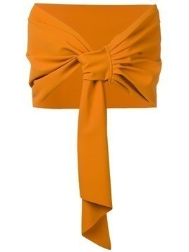 Le Petite Robe Di Chiara Boni sheer scarf - Orange