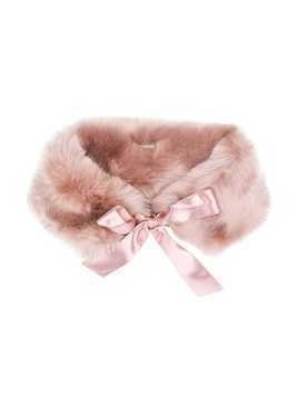 Hucklebones London faux fur stole - Pink