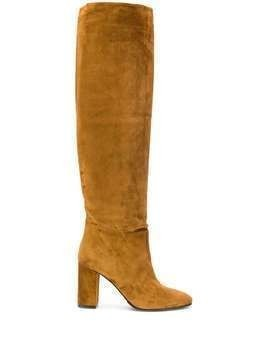 Le Silla Elle 90mm knee-high boots - NEUTRALS