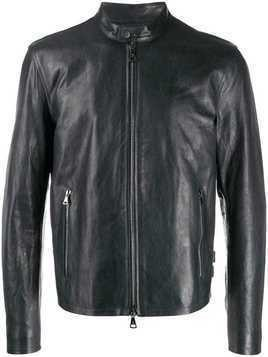 John Varvatos moto jacket - Blue