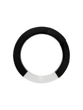 Monies chunky ring necklace - Black