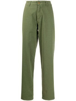Essentiel Antwerp Trustme high-rise straight trousers - Green