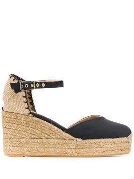 Castañer Chiarita wedges - Black