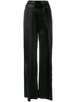 Ann Demeulemeester flared trousers - Black