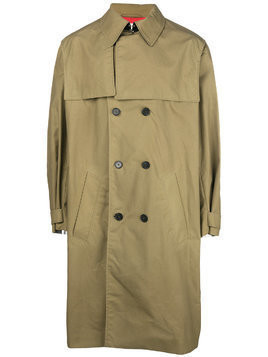 Kenzo double breasted trench coat - Green