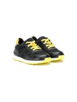 Hogan Kids side-zip low-top sneakers - Black