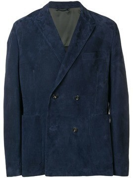 Ajmone suit jacket - Blue