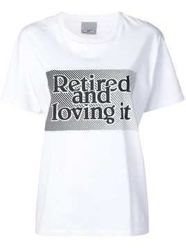 Ashley Williams Retired print T-shirt - White