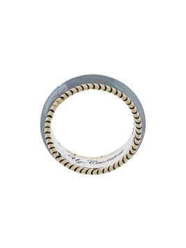 Ugo Cacciatori band ring - Metallic