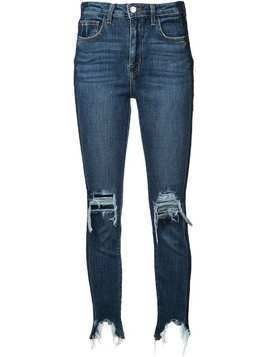 L'Agence High Line high rise skinny jeans - Blue