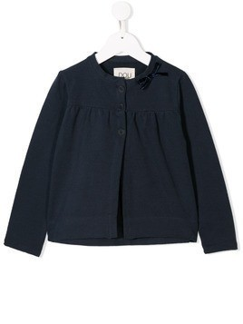 Douuod Kids cardigan with bow - Blue