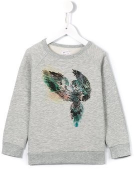 Morley 'Bass Owl' sweatshirt - Grey