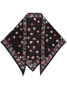Rockins skull bandana scarf - Black