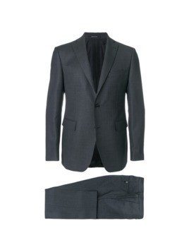 Tagliatore formal fitted suit - Grey