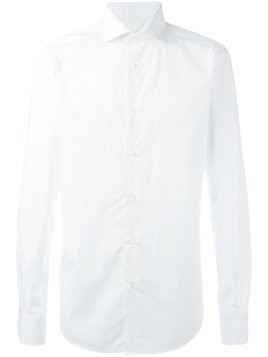 Fashion Clinic Timeless classic plain shirt - White