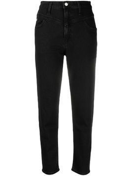 Calvin Klein Jeans straight leg dark wash jeans - Black