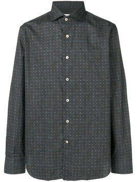 Alessandro Gherardi patterned shirt - Brown