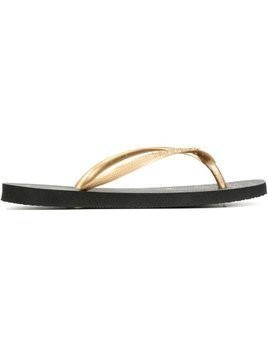 Charlotte Olympia Charlotte Olympia x Havaianas flip flops - Black