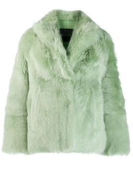 Blancha fur jacket - Green