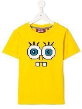 Mostly Heard Rarely Seen 8-Bit Tiny Snaggle Teeth T-shirt - Yellow