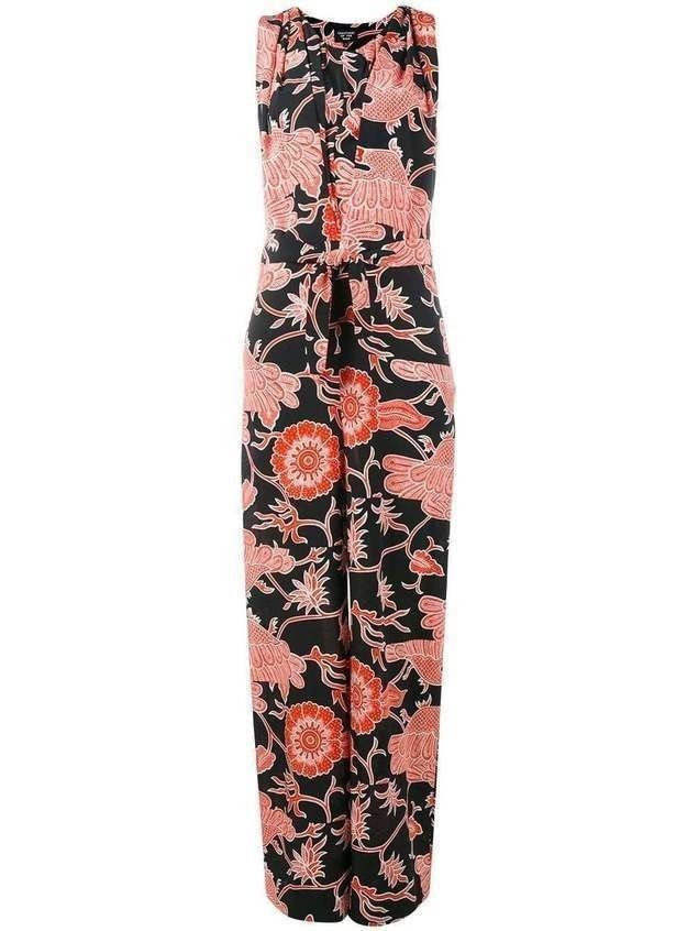 Creatures Of The Wind printed jumpsuit - Black