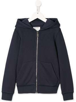 Zadig & Voltaire Kids Liberty sequin embellished hoodie - Blue