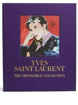 Assouline Yves Saint Laurent: The Impossible Collection - Purple